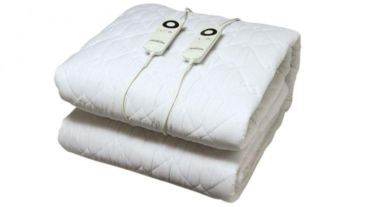 Sunbeam Sleep Perfect Quilted Electric Blanket - Queen Bed - Electric Blankets - Heating - Heating, Cooling & Air Treatment | Harvey Norman Australia