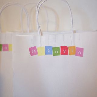 Playschool party favours - Kids Party Space