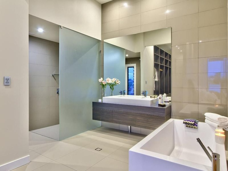 17 best images about modern bathroom on pinterest modern for Australian small bathroom design