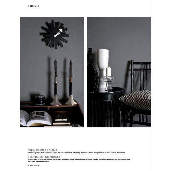 Časopis ELLE DEKOR, broj 9 via Polyvore featuring text и magazine