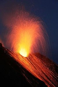 Stromboli Volcano, one of the best things I've ever seen.