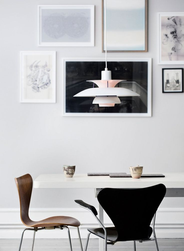 Lamp and chair are Danish design - Nordic Coolness Living