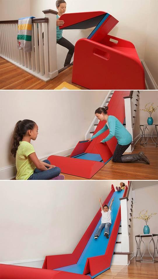 OMG I need this!! Toboggan d'escaliers pliable par Trisha Cleveland