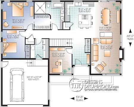 24 Best Plans Et Maisons Images On Pinterest Home Plans