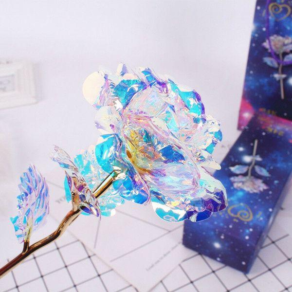 24K Gold foil LED Light Rose Dipped Flower Valentine/'s Day Mothers Xmas Gift