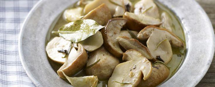 funghi marinati (Montefeltro, Marche) Sale&Pepe