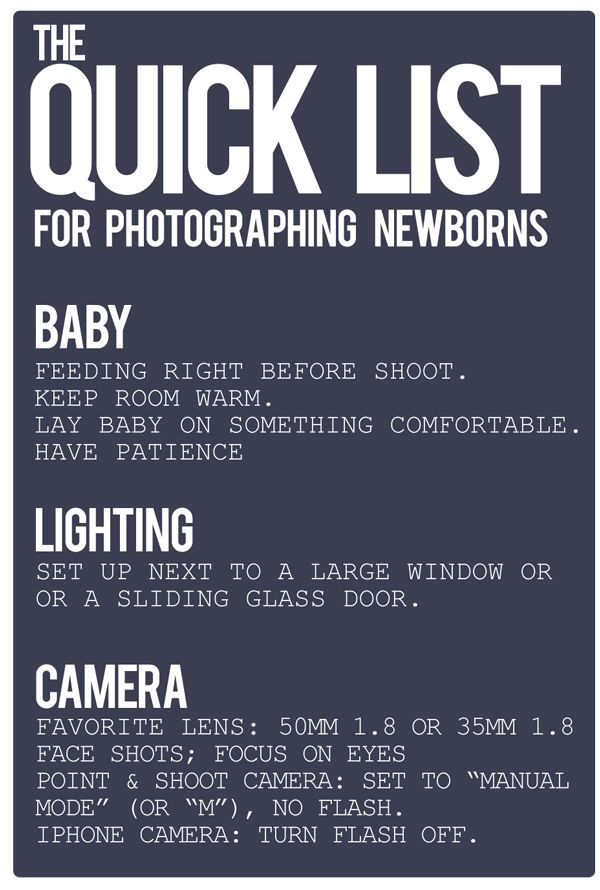 How to take Photos of your Newborn Baby. A Few Easy Tips