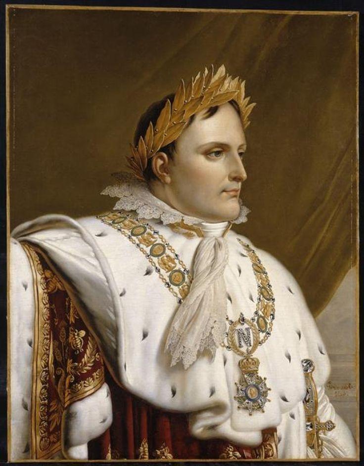 Anne–Louis Girodet de Roussy–Trioson, Portrait de Napoléon Empereur. Ajaccio, Maison Bonaparte