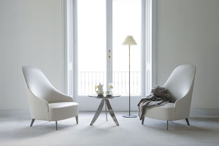 Vanessa leather armchairs.  design by BertO