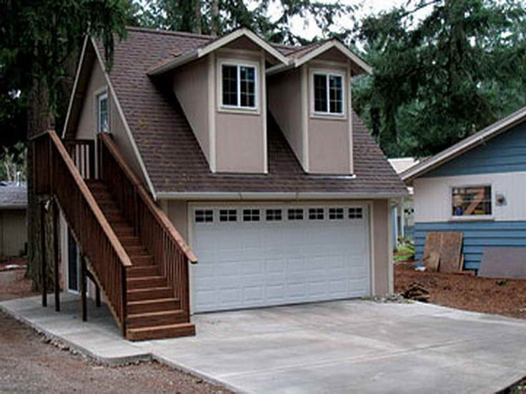 For the guest house dream home pinterest guest for Modular garage with living quarters