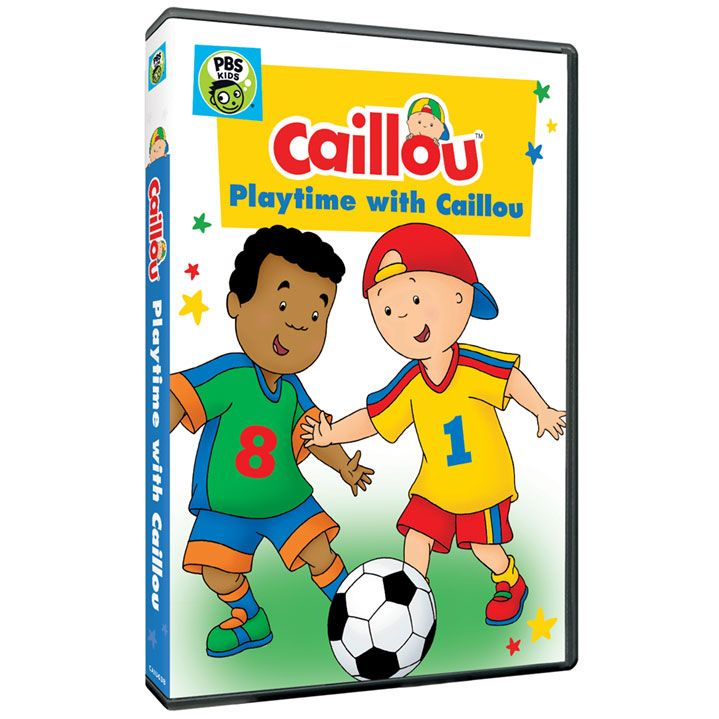 *NEW DVD* Playtime with Caillou DVD