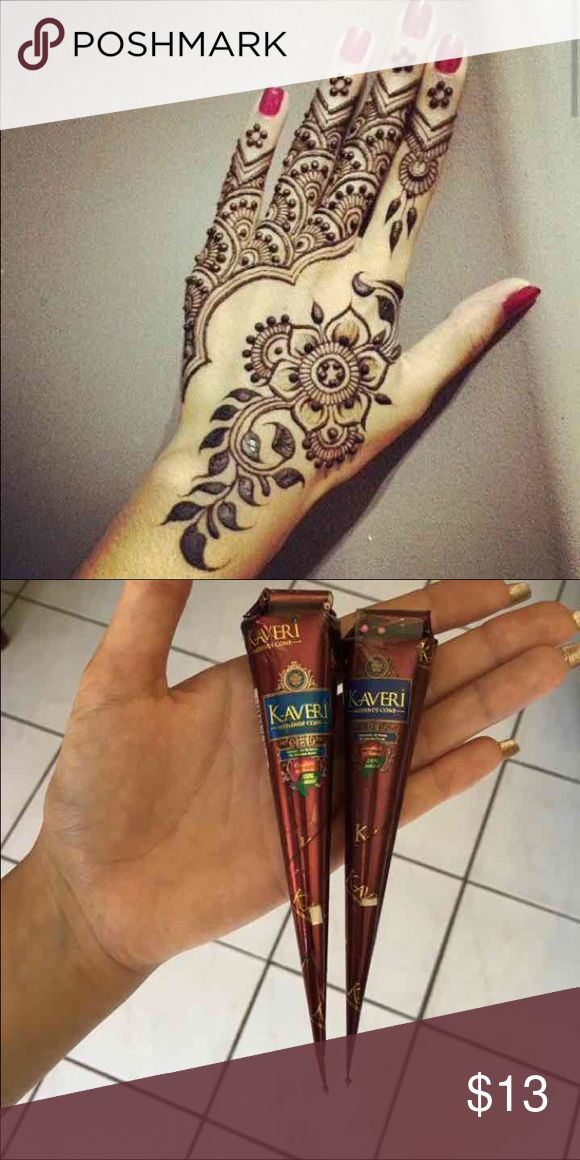 (2) brown henna cones natural ♡ Same/next day shipping  ♡ Bundle & save  ♡ No holds/No trades/No low ballers ♡ I ship through USPS & provide tracking! ♡ All my items are in a smoke free home ♡ Happy shopping, God bless. ♡not_brand_listed PINK Victoria's Secret Accessories