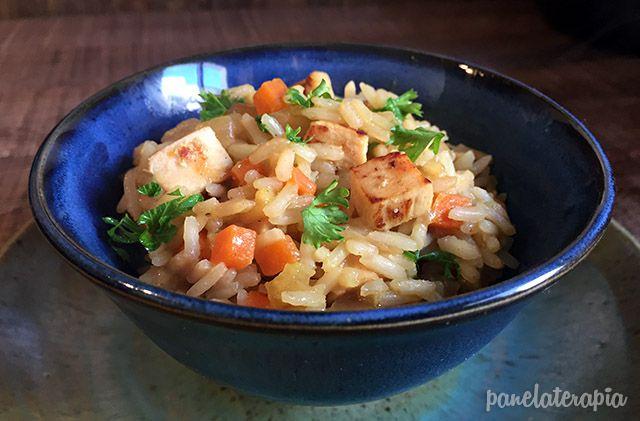 Panelaterapia | Arroz com Frango, Curry e Leite de Coco | http://panelaterapia.com