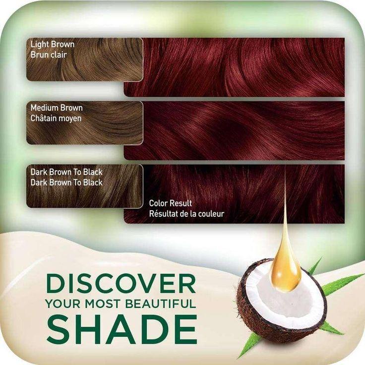 AmazonSmile : Clairol Natural Instincts Crema Keratina Hair Color Kit, Medium Red 5RR Raspberry Creme : Beauty