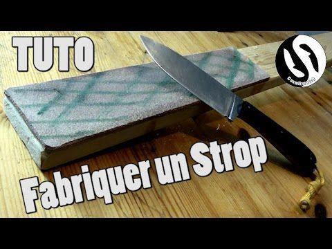 [tuto] fabrication d'un strop en cuir (pad d'aiguisage) - cosmikvratch - YouTube