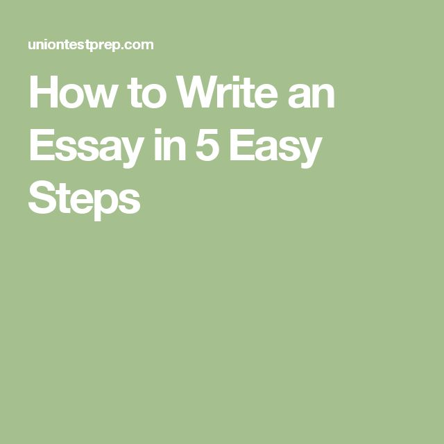 easy steps how to write an essay Are you the sort of person who loves to prove a point if so, then writing an  analytical essay might be right up your alley in fact, it's a great.