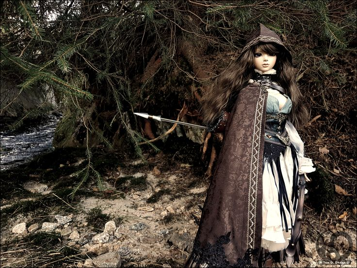 Fantasy Iplehouse Rexy as an archer