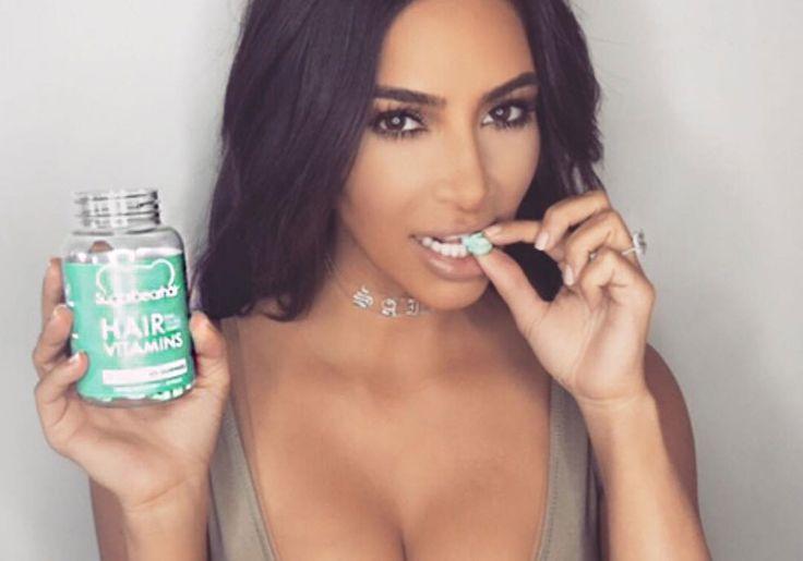 Nova obsessão de Kim Kardashian: pílula para crescimento dos fios funciona?