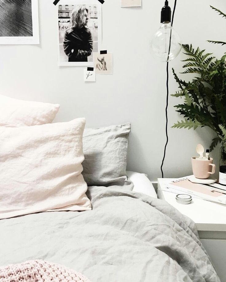 Love these blush tones for a cozy