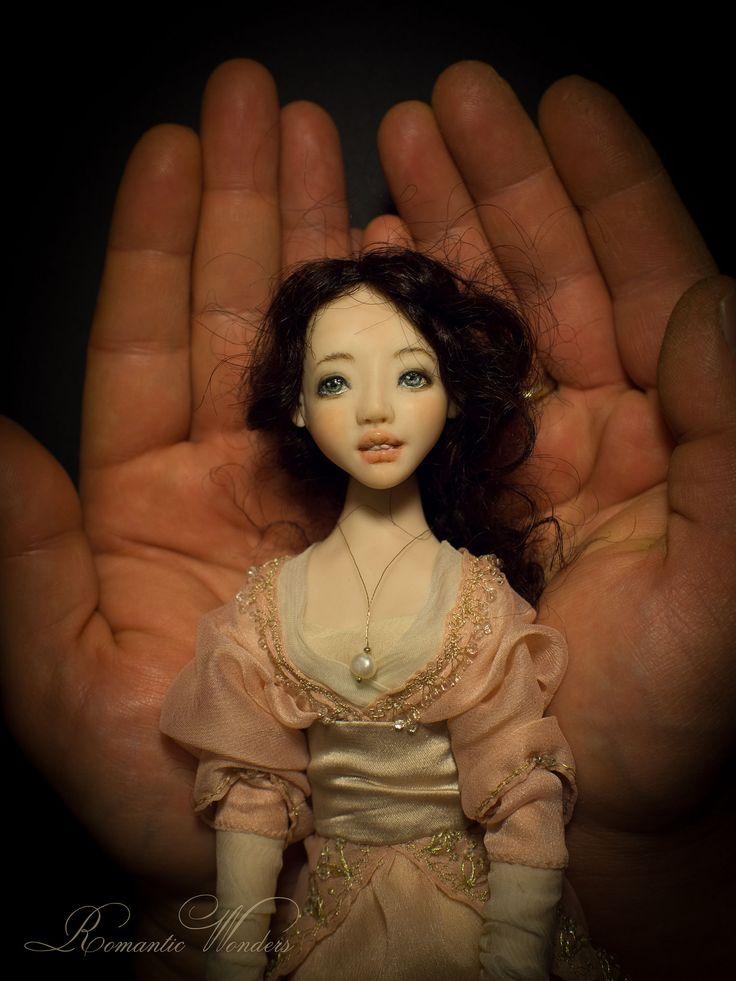 https://flic.kr/p/qRAQBm | Art doll Anette by Romantic Wonders