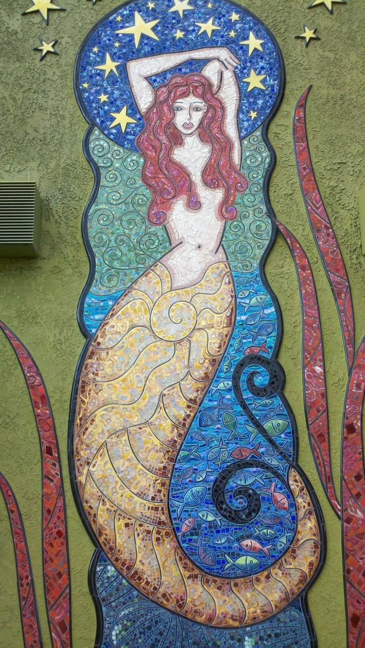 92 Best Images About Mermaid Mosaics On Pinterest
