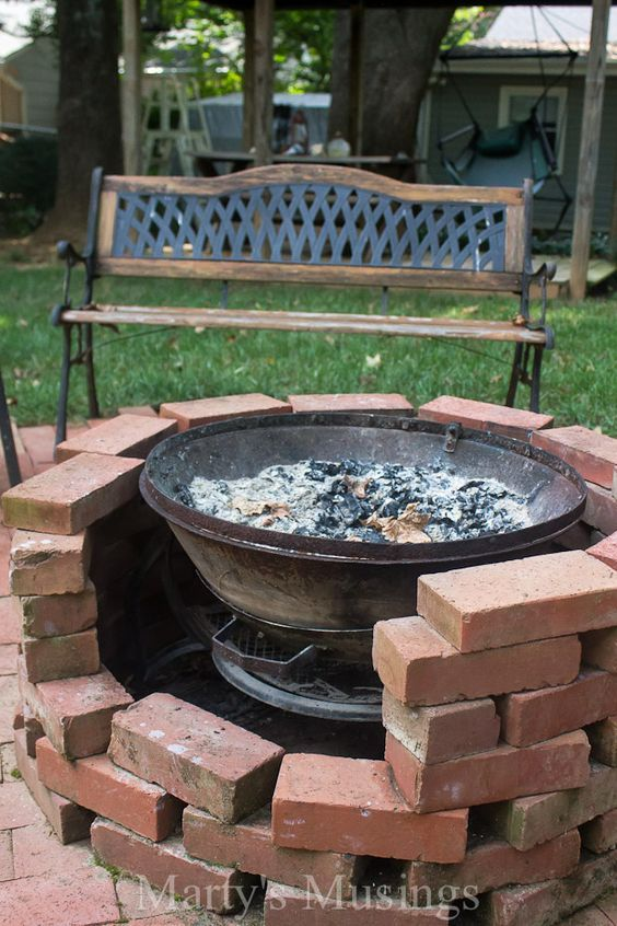42 Best Fire Pits Images On Pinterest Backyard Ideas