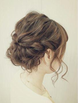 ねじり波ウェーブアレンジ♪ - 24時間いつでもWEB予約OK!ヘアスタイル10万点以上掲載!お気に入りの髪型、人気のヘアスタイルを探すならKirei Style[キレイスタイル]で。
