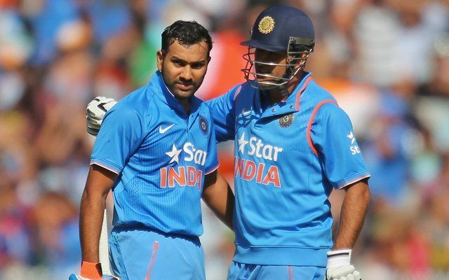 MS Dhoni has been a stalwart of Indian cricket: Rohit Sharma