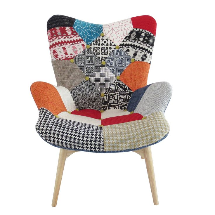 1000 id es sur le th me chaise en patchwork sur pinterest for Chaise longue patchwork