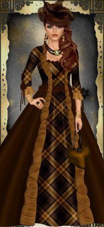 Vintage Dress Up Game