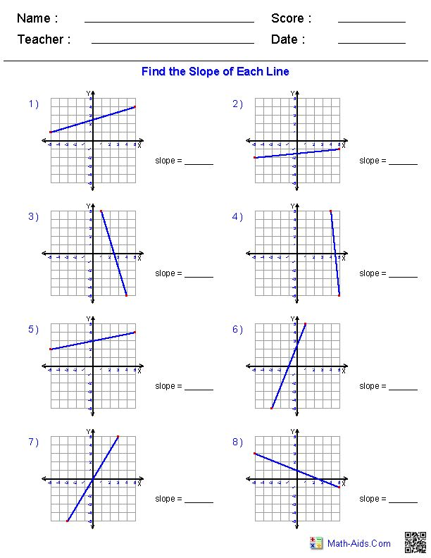 Worksheet Graphing Lines Slope Intercept Form Further Worksheet ...