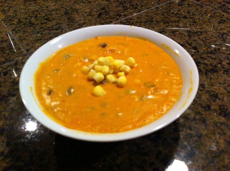 Chipotle Butternut Squash Soup - My Dirty Apron