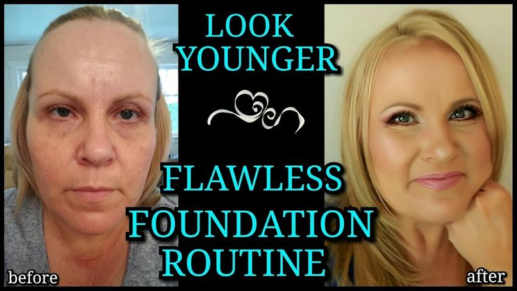 My Flawless Foundation Routine | Make Your Foundation Last All Day | Look Younger | Giveaway See Box - YouTube