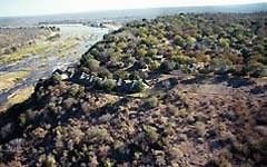 Olifants Camp is a spectacular rest camp situated on a prominent 100 metre-high ridge overlooking the Olifants River in Kruger Park - South Africa.