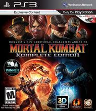 Boxshot: Mortal Kombat Komplete Edition by Warner Home Video Games