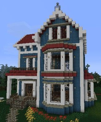 Mc.pilotdan.com minecraft house blueprint - Google Search #Minecraft #Gorillabit