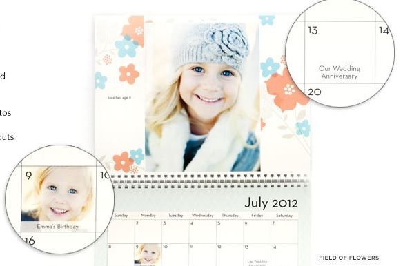 TODAY ONLY! Shutterfly Coupon Code: FREE 12 Month Photo Calendar (reg. $21.99) - you pay $5.99 Shipping!