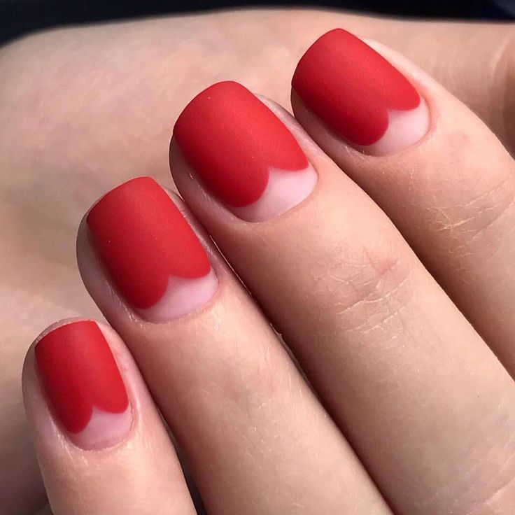 Nail Art #3104 - Best Nail Art Designs Gallery - Best 25+ Short Red Nails Ideas Only On Pinterest Short Acrylics