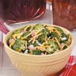 Favorite Broccoli Salad Recipe from Taste of Home brought to you by our friends at Physicians Mutual