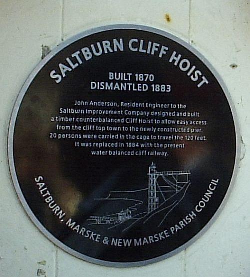Saltburn cliff lift.