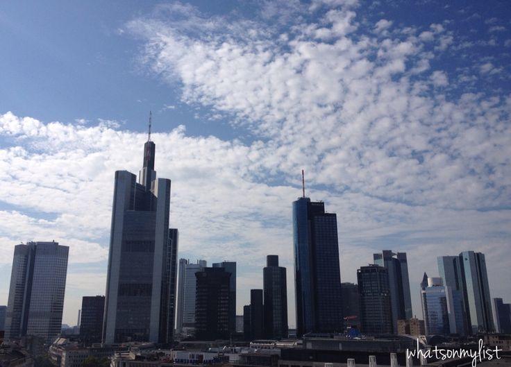 Frankfurt city!