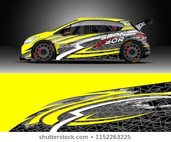 car decal design vector graphic abstract stripe racing background rh pinterest com