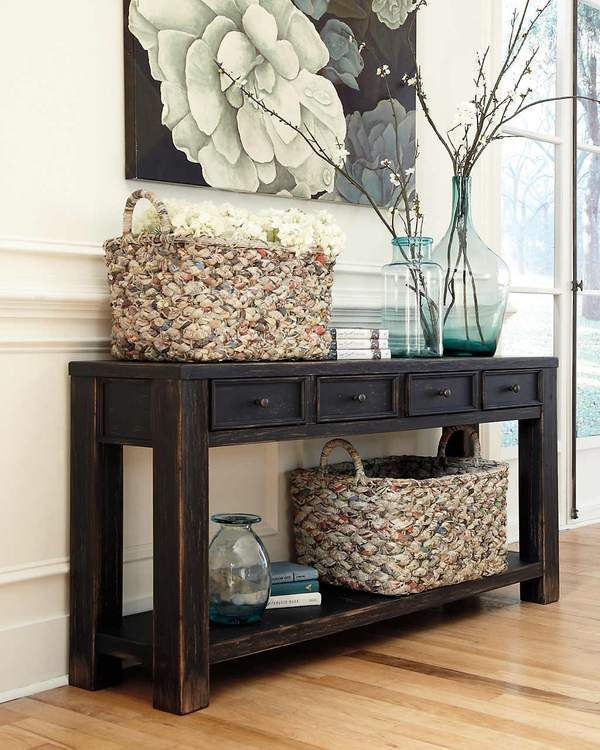 gavelston console table home renovations rh pinterest es