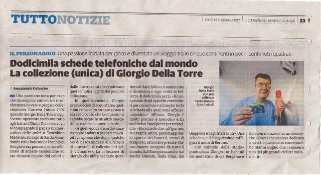 COMITATO DI QUARTIERE S.ALBINO (MONZA) : GIORGIO DELLA TORRE E LA SUA STRAORDINARIA COLLEZI...