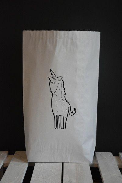 Worek papierowy Jednorożec – Blacksis