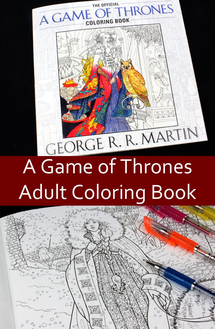 Adult coloring book game of thrones - Find This Pin And More On Adult Coloring Books Game Of Thrones