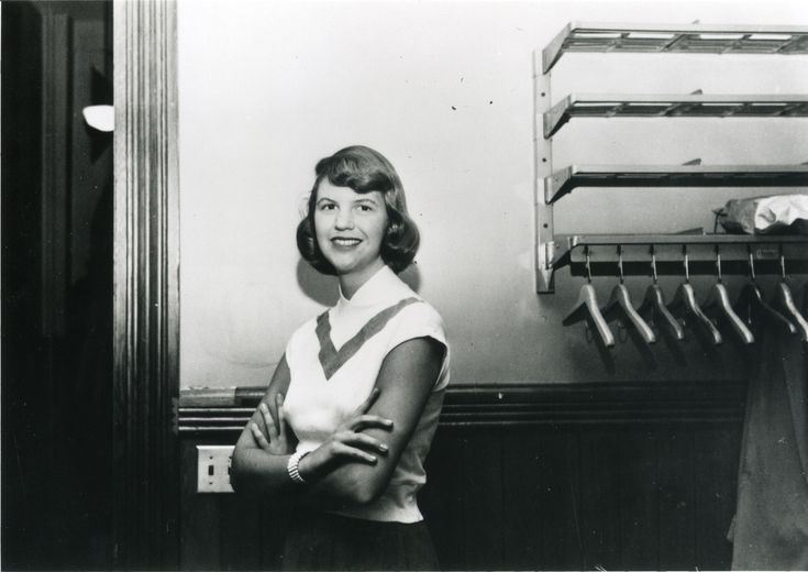 """Writing Advice from Sylvia Plath - """"The worst enemy to creativity is self-doubt."""""""