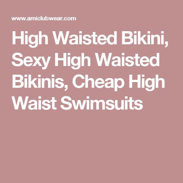 High Waisted Bikini, Sexy High Waisted Bikinis, Cheap High Waist Swimsuits