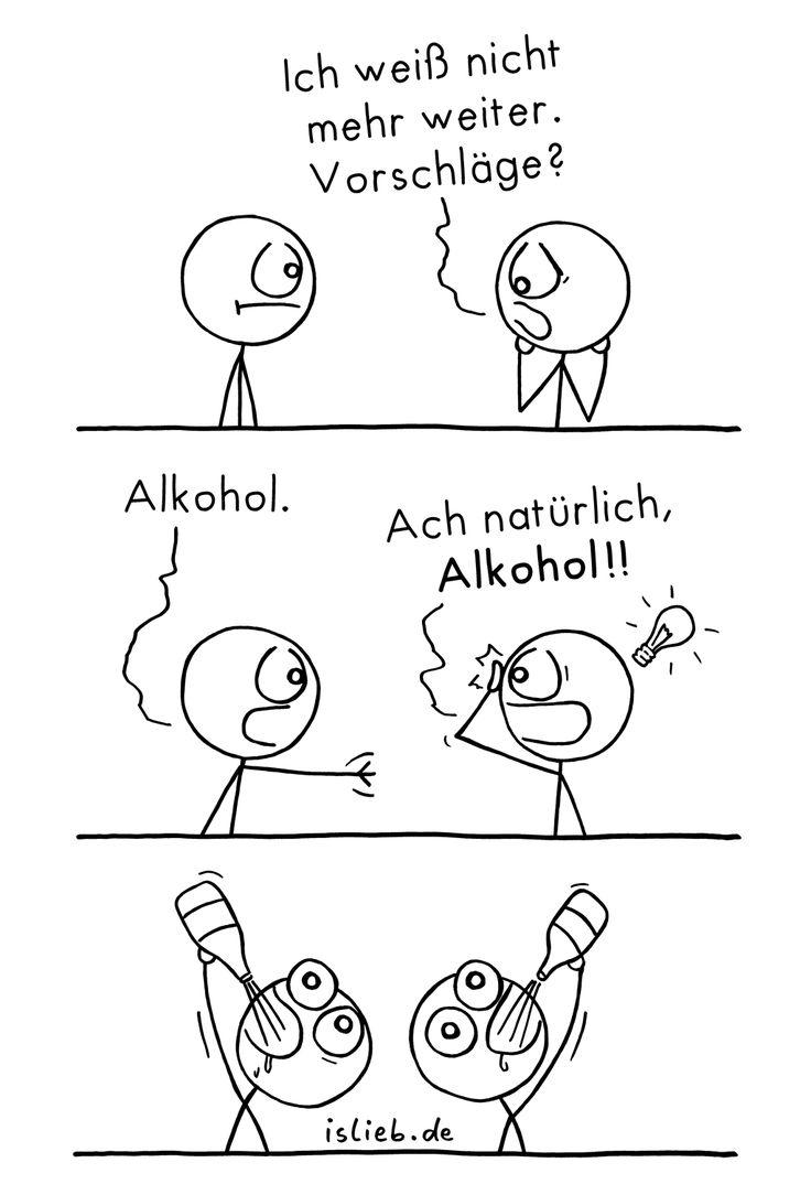 Ach natürlich :) | #trinken #saufen #alkohol #probleme islieb