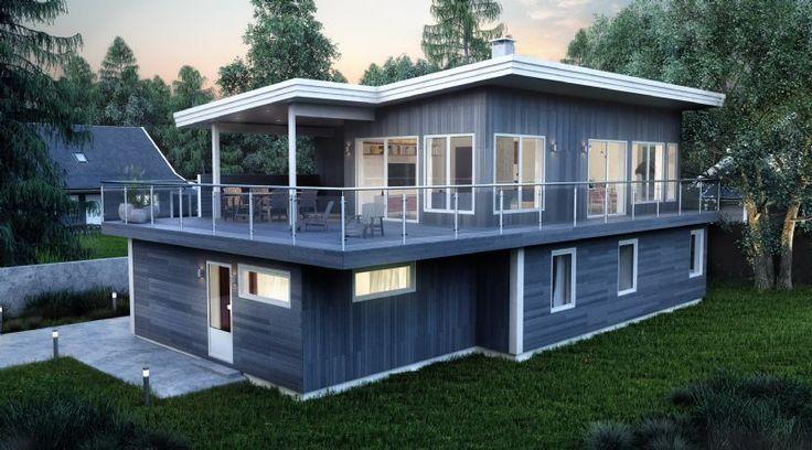Norske Hus | Bildegalleri | Living spaces, houses and room